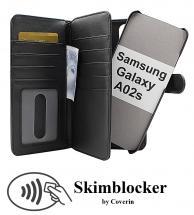 CoverInSkimblocker XL Magnet Fodral Samsung Galaxy A02s