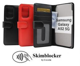 CoverInSkimblocker Plånboksfodral Samsung Galaxy A52 / A52 5G / A52s 5G