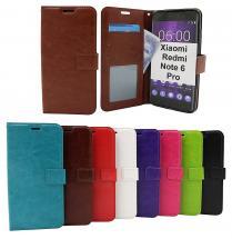billigamobilskydd.seCrazy Horse Wallet Xiaomi Redmi Note 6 Pro
