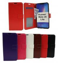 billigamobilskydd.seCrazy Horse Wallet Huawei Mate 20 Lite