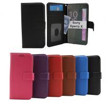 billigamobilskydd.seNew Standcase Wallet Sony Xperia X (F5121)