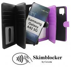 CoverInSkimblocker XL Magnet Fodral Samsung Galaxy A42 5G