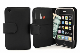 billigamobilskydd.sePlånboksfodral iPhone 3 (svart)