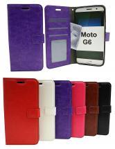 billigamobilskydd.seCrazy Horse Wallet Motorola Moto G6