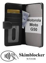 CoverInSkimblocker Plånboksfodral Motorola Moto G50