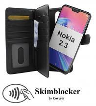 CoverInSkimblocker XL Magnet Fodral Nokia 2.3