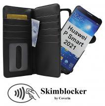CoverInSkimblocker XL Magnet Fodral Huawei P Smart 2021