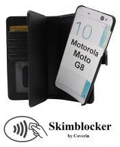 CoverInSkimblocker XL Magnet Fodral Motorola Moto G8 (XT2045-1/XT2045-2)