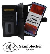 CoverInSkimblocker XL Magnet Fodral Samsung Galaxy S20 Ultra (G988B)