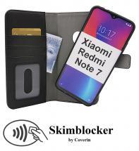 CoverInSkimblocker Magnet Fodral Xiaomi Redmi Note 7