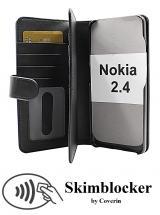 CoverInSkimblocker XL Wallet Nokia 2.4
