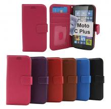 billigamobilskydd.seNew Standcase Wallet Moto C Plus (XT1723)
