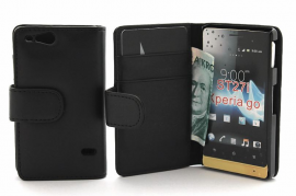 CoverInPlånboksfodral Sony Xperia Go ST27i