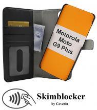 CoverInSkimblocker Magnet Fodral Motorola Moto G9 Plus