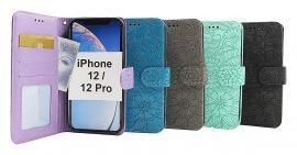 billigamobilskydd.seFlower Standcase Wallet iPhone 12 / 12 Pro (6.1)