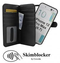 CoverInSkimblocker XL Magnet Fodral iPhone 12 Pro Max (6.7)