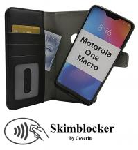 CoverInSkimblocker Magnet Fodral Motorola One Macro