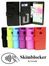 CoverInSkimblocker Plånboksfodral Huawei Honor 8