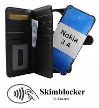 CoverInSkimblocker XL Magnet Fodral Nokia 3.4