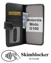 CoverInSkimblocker Plånboksfodral Motorola Moto G100