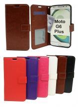 billigamobilskydd.seCrazy Horse Wallet Motorola Moto G6 Plus