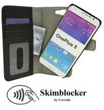 billigamobilskydd.seSkimblocker Magnet Wallet OnePlus 5