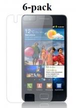 billigamobilskydd.seSamsung Galaxy S2 skärmskydd 6-pack