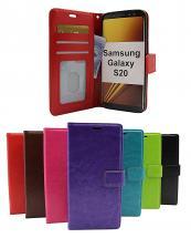 billigamobilskydd.seCrazy Horse Wallet Samsung Galaxy S20 (G980F)
