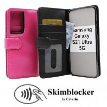 CoverInSkimblocker Plånboksfodral Samsung Galaxy S21 Ultra 5G (G998B)