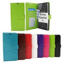 billigamobilskydd.seCrazy Horse Wallet Sony Xperia 1 (J9110)