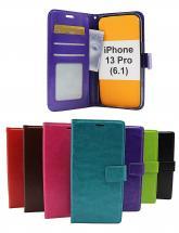 billigamobilskydd.seCrazy Horse Wallet iPhone 13 Pro (6.1)