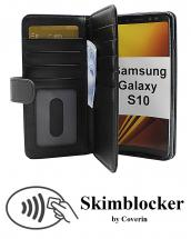 CoverInSkimblocker XL Wallet Samsung Galaxy S10 (G973F)