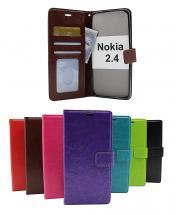 billigamobilskydd.seCrazy Horse Wallet Nokia 2.4