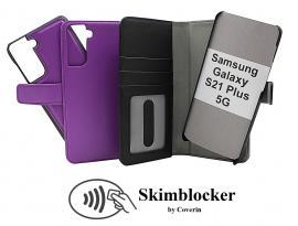CoverInSkimblocker Magnet Fodral Samsung Galaxy S21 Plus 5G (G996B)