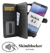 CoverInSkimblocker XL Magnet Fodral Nokia 8.3