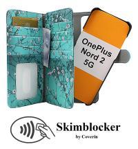 CoverInSkimblocker XL Magnet Designwallet OnePlus Nord 2 5G