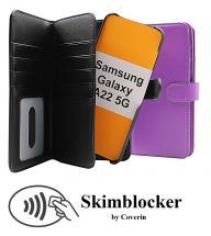 CoverInSkimblocker XL Magnet Fodral Samsung Galaxy A22 5G (SM-A226B)