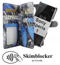 billigamobilskydd.seSkimblocker XL Magnet Designwallet Sony Xperia 1 (J9110)