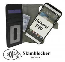 billigamobilskydd.seSkimblocker Magnet Wallet Huawei P20 (EML-L29)