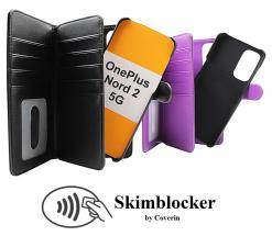 CoverInSkimblocker XL Magnet Fodral OnePlus Nord 2 5G