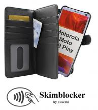 CoverInSkimblocker XL Magnet Fodral Motorola Moto G9 Play