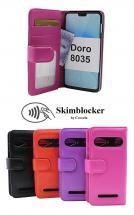 CoverInSkimblocker Plånboksfodral Doro 8035