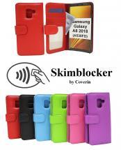 billigamobilskydd.seSkimblocker Plånboksfodral Samsung Galaxy A8 2018 (A530FD)