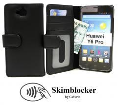 CoverInSkimblocker Plånboksfodral Huawei Y6 Pro (TIT-L01)