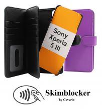 CoverInSkimblocker XL Magnet Fodral Sony Xperia 5 III (XQ-BQ52)