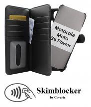 CoverInSkimblocker XL Magnet Fodral Motorola Moto G9 Power