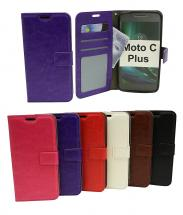 billigamobilskydd.seCrazy Horse Wallet Moto C Plus
