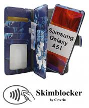 CoverInSkimblocker XL Magnet Designwallet Samsung Galaxy A51 (A515F/DS)