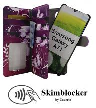 CoverInSkimblocker XL Magnet Designwallet Samsung Galaxy A71 (A715F/DS)