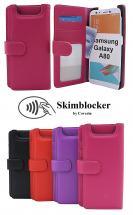 CoverInSkimblocker Plånboksfodral Samsung Galaxy A80 (A805F/DS)
